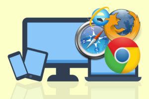 Website Traffic: Desktop/Mobile/Tablet and Internet Browsers