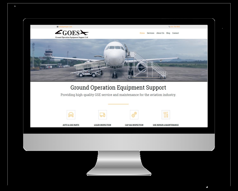 GOES Ltd Website Redesign