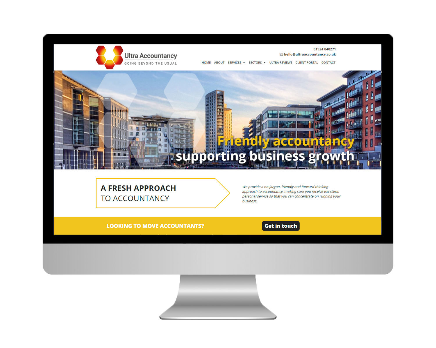 Ultra Accountancy, WordPress Design