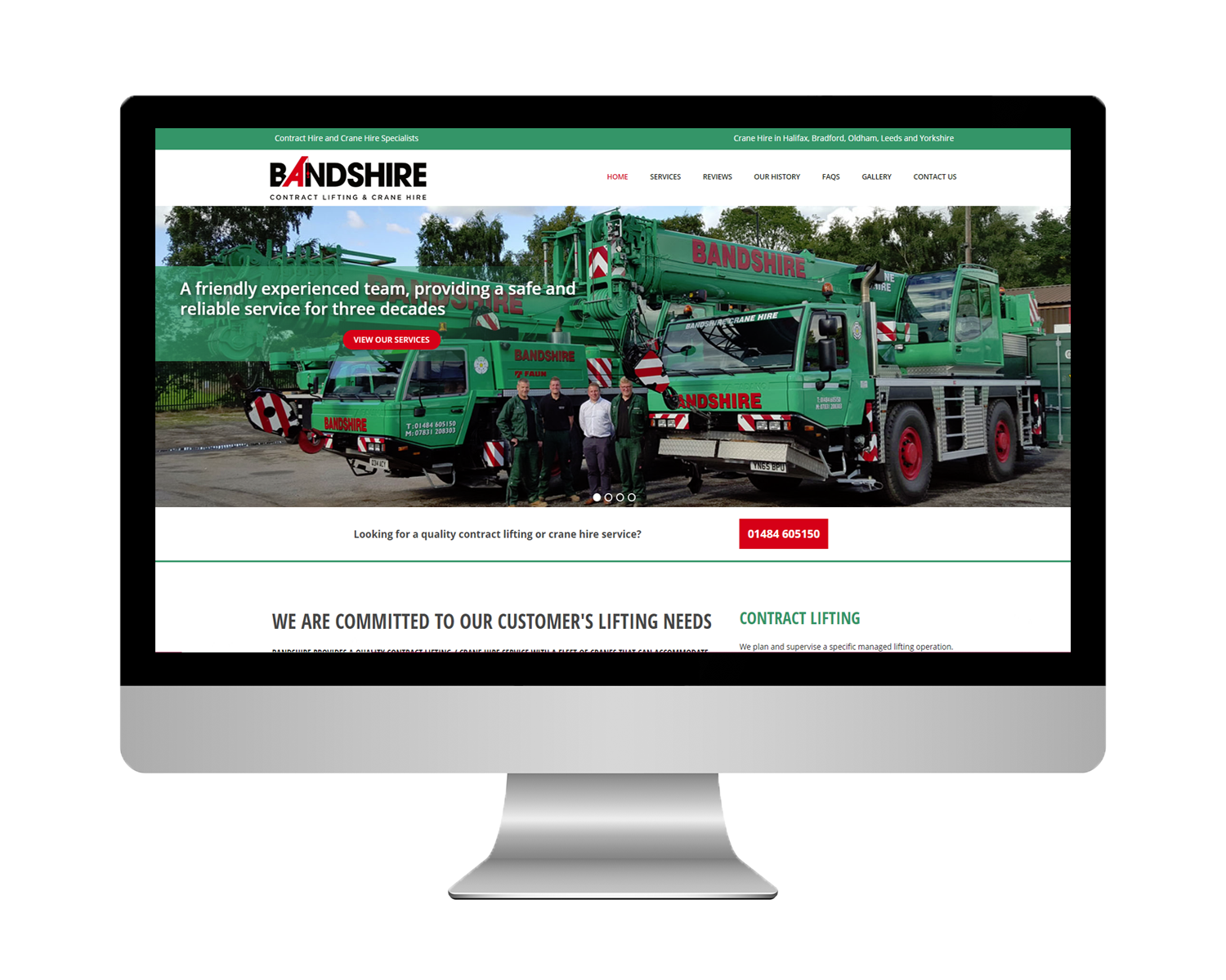 Bandshire Limited, Website Development