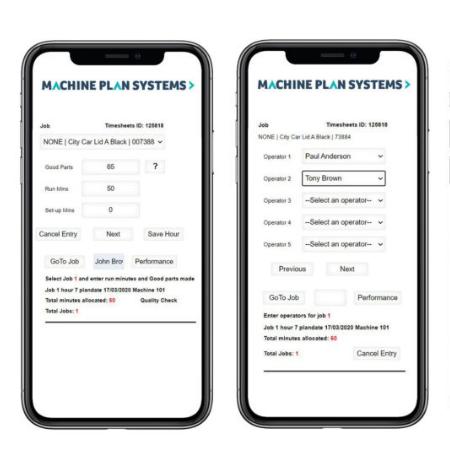 Machine Plan Systems